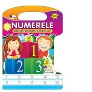 Numerele - Scriem, stergem, scriem iar! - Dreamland Publications