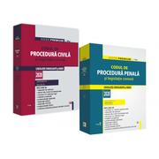 Pachet Codul de Procedura Civila si Codul de Procedura Penala cu legislatie conexa 2020. Editie Premium - Dan Lupascu