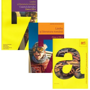 Pachet complet Limba si literatura romana clasa a 7-a: manual, caiet si cartea de gramatica, autor Florentina Samihaian, Sofia Dobra