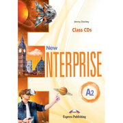 Curs limba engleza New Enterprise A2 Audio Set 3 CD - Jenny Dooley
