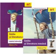 Pachet Limba si literatura romana pentru clasa a 5-a manual si caiet, autor Florentina Samihaian