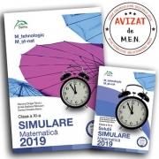 Simulare BACALAUREAT 2019 - clasa a XI-a - matematica M_tehnologic, M_st-nat