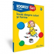 Logico Primo. Set. Invat despre culori si forme (3+)