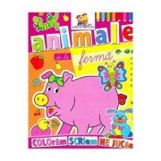 Animale de la Ferma - Coloram, scriem, ne jucam