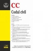 Codul civil. Editia a 8-a actualizata la 8 februarie 2018 - Radu Rizoiu