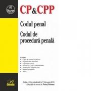 Codul penal. Codul de procedura penala. Editia a 18-a actualizata la 11 februarie 2019 - Petrut Ciobanu