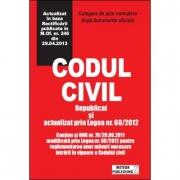 Codul civil actualizat. Republicat si actualizat prin Legea nr. 60/2012