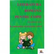 Literatura romana pentru copii Clasele 1-4 - Florentina Macovei