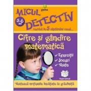Micul detectiv rezolva in 5 saptamani cazul - Cifre si gandire matematica