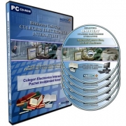 Pachet culegeri electronice interactive UnivTest, nivel liceal. 5 CD-uri