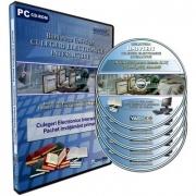 Pachet culegeri electronice interactive UnivTest, nivel primar. 5 CD-uri