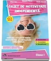 Caiet de activitate independenta, pentru clasa I
