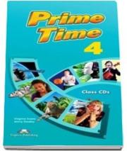 Curs pentru limba engleza. Prime Time 4 Audio CD (SET 7 CD-URI) - Jenny Dooley