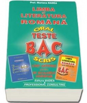 Limba si literatura romana, Bacalaureat Oral si Scris (Carti Antistres pentru un Bacalaureat Confortabil) - Mariana Badea