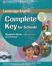 Complete key for schools student's book pack