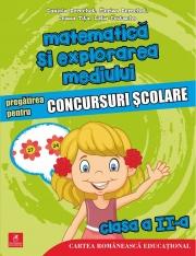 Matematica si explorarea mediului. Pregatirea pentru concursuri scolare. Clasa a II-a - Daniela Berechet, Florian Berechet, Lidia Costache, Jeana Tita
