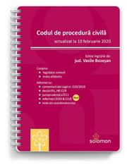 Codul de procedura civila (actualizat la 10 februarie 2020) - Vasile Bozesan
