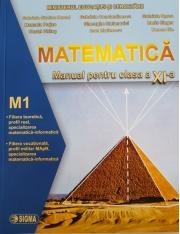 Matematica (M1) -Manual pentru clasa a XI-a (Gabriela Streniu Cerccel)