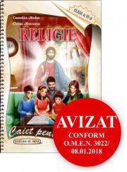 Religie. Caiet pentru elevi. Clasa a IV-a
