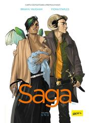 Saga vol. 1 - Brian K. Vaughan, Fiona Staples
