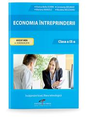 Economia intrepriderii. Clasa a IX-a