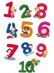 Numere – Set planșe (KP-012) - 30x40