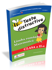 Teste distractive de Limba romana si Matematica pentru clasa a II-a - Mariana Popa, Gabriela Cosac