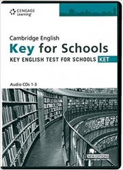 Practice Tests for Cambridge KET for Schools Audio CDs