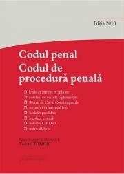 Codul penal. Codul de procedură penală și Legile de punere în aplicare. Actualizat la 31 octombrie 2018