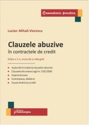 Clauzele abuzive in contractele de credit. Editia a 2-a revizuita si adaugita (Lucian Mihali Viorescu)