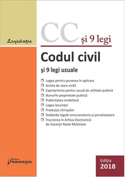 Codul civil si 9 legi uzuale. Editie actualizata 29 ianuarie 2018