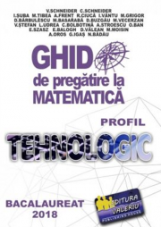 Bacalaureat 2019 - Ghid de pregatire la Matematica. Profil Tehnologic