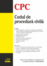 Codul de procedura civila - Evelina Oprina