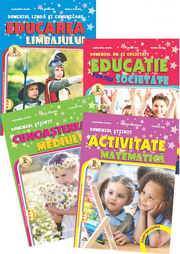 Set 4 Carti Gradinita nivel 4-5 ani, Alexandra Manea (editia 2019)