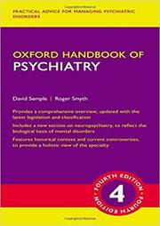 Oxford Handbook of Psychiatry - David Semple, Roger Smyth