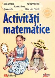 Activitati matematice pentru grupa mijlocie