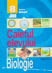 Biologie - Caietul elevului clasa A VIII-A