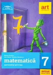 Clubul matematicienilor - Matematica pentru clasa a VII - Semestrul al II-a