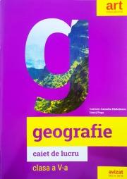 Geografie, caiet de lucru pentru clasa a V-a