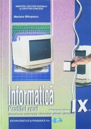 Manual informatica - clasa a IX-a Real Intensiv C++ (Specializarea matematica-informatica intensiv, informatica)