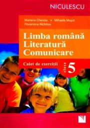 Limba romana. Literatura. Comunicare. Clasa a V-a. Caiet de exercitii