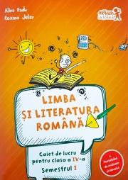 Caiet de lucru la Limba si literatura romana conform programei pentru clasa a IV-a