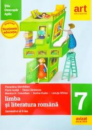 Limba si literatura romana pentru clasa a VII-a. Semestrul al II-lea. Metoda STIU-DESCOPAR-APLIC