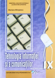 Manual tehnologia informatiei si a comunicatiilor - clasa a IX-a
