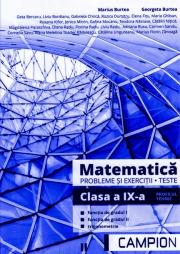 Matematica, probleme si exercitii, teste pentru clasa a IX-a. Profilul tehnic, functia de gradul I, functia de gradul II, trigonometrie