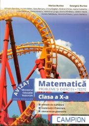 Matematica. Probleme si exercitii, teste. Clasa a X-a