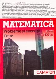Culegere pentru Matematica clasa a IX-a, probleme si exercitii, teste - Profilul, servicii, resurse, tehnici (TC de tip M-Tehnologic)