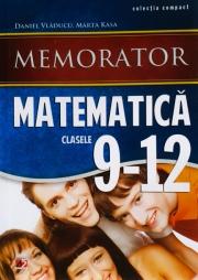 Memorator de matematica (Clasele IX-XII)