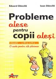 Probleme alese pentru copii alesi- O carte pentru zile ploioase