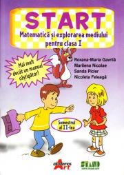 START - Matematica si explorarea mediului Clasa I Sem. 2
